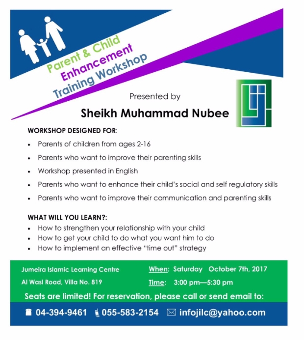 Parent Child Enhancement Training Workshop